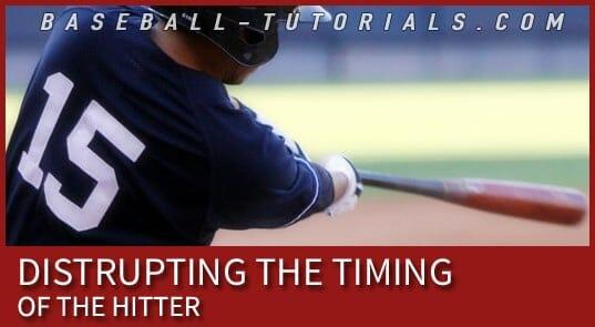 baseball pitching disrupting timing 2B