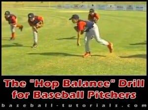 hop pitch balance drill