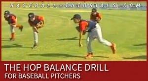 hop balance drill
