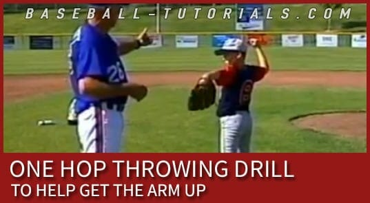 one hop throwing drill 2