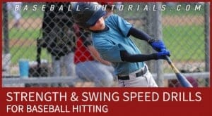 baseball hitting strength swing