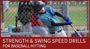 baseball hitting strength swing