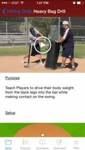 heavybag hitting drill