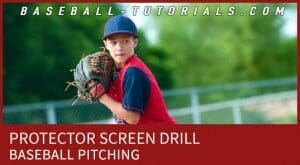 SCREEN PITCHING DRILL