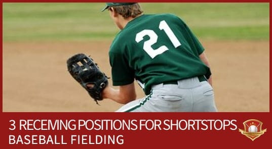 SHORTSTOP RECEIVING BASEBALL FIELDING