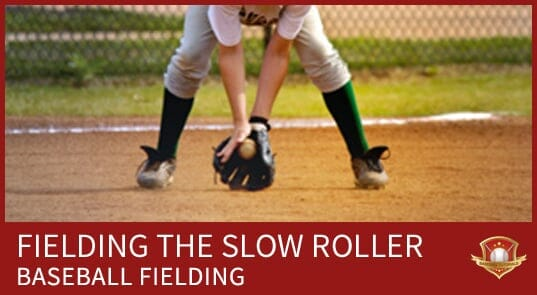 baseball fielding slow roller