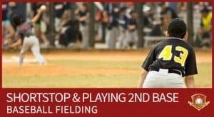 SHORTSTOP playing 2nd base