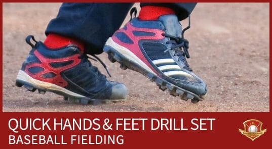 quick hands and feet fielding drill set