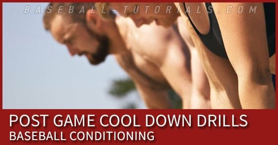 cool down drills