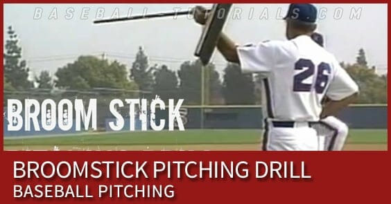 BROOMSTICK PITCHING DRILL