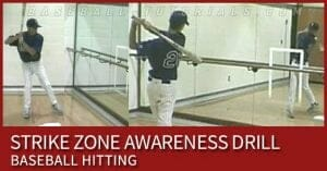 STRIKE ZONE AWARENESS HITTING DRILL