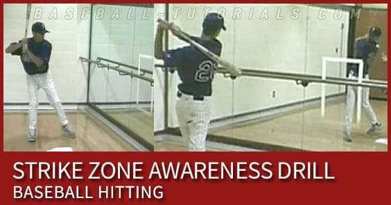 STRIKE ZONE AWARENESS HITTING DRILL