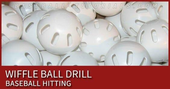 wiffle ball hitting drill