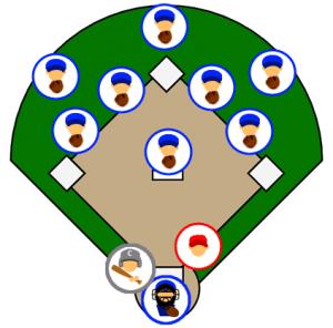 game-like baseball drill
