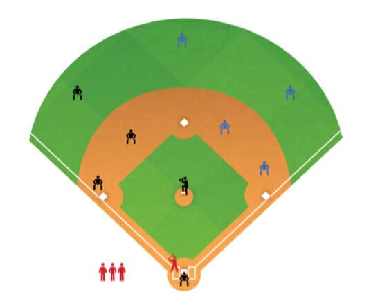 Carry The Team Baseball Hitting Drill