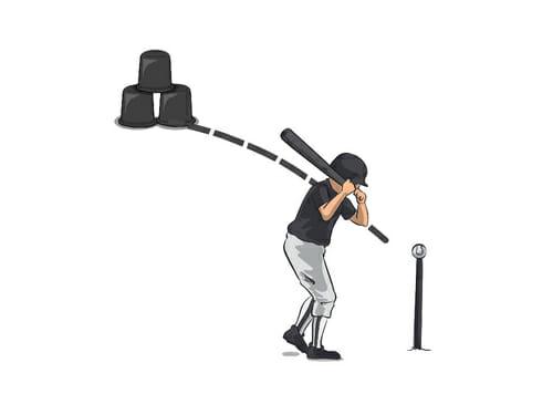 Pinball Baseball Hitting Drill