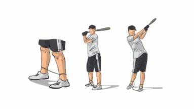 String Drill Baseball Hitting Drill