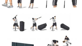 at home baseball drills